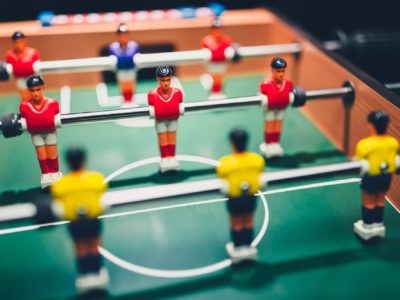 table football soccer game players (kicker)