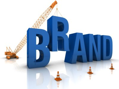 Building the word Brand