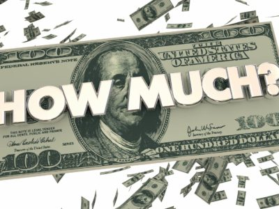 How much money illustration with cash